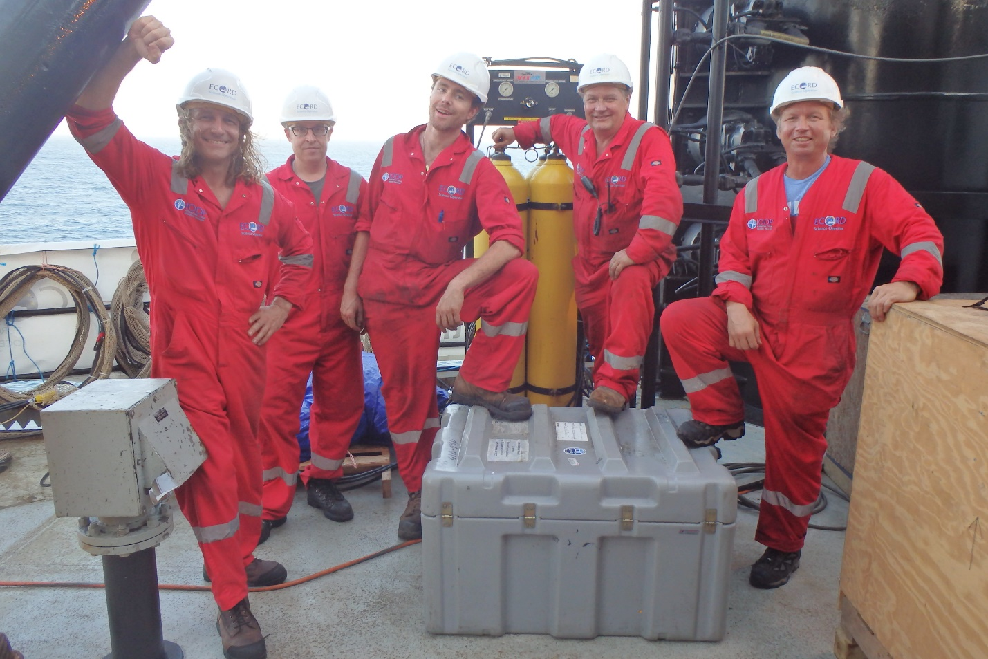 Borehole seismic team