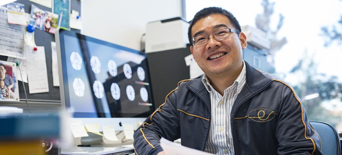Statistician Linglong Kong of the University of Alberta