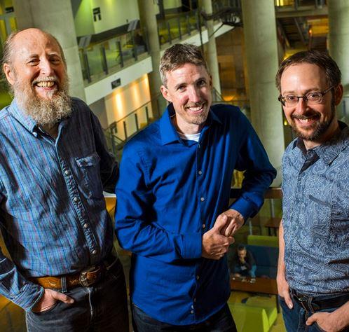 UAlberta profs Richard Sutton, Michael Bowling and Patrick Pilarski