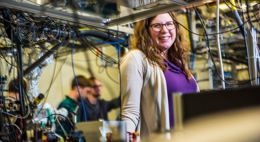 Lindsay LeBlanc, Canada Research Chair in Ultracold gases for quantum simulation and Assistant Professor in the University of Alberta's Department of Physics, has successfully created a Bose-Einstein condensate, making hers the coldest lab in the coldest city in the world.