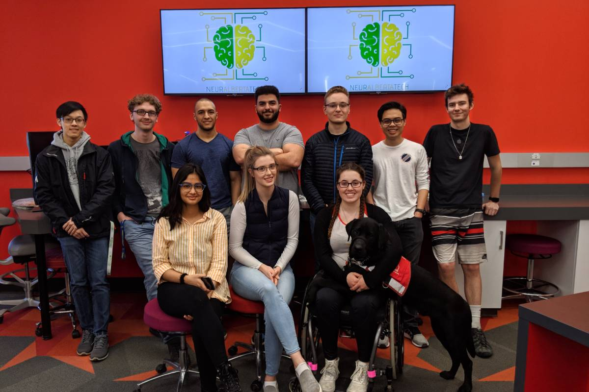 Student group uses cutting-edge neurotechnology to create accessible game experience.