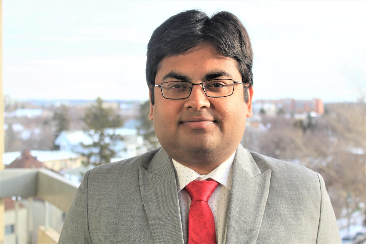 Abhishek Narayan has received the Banting Fellowship to continue his research on ALS at the University of Alberta.
