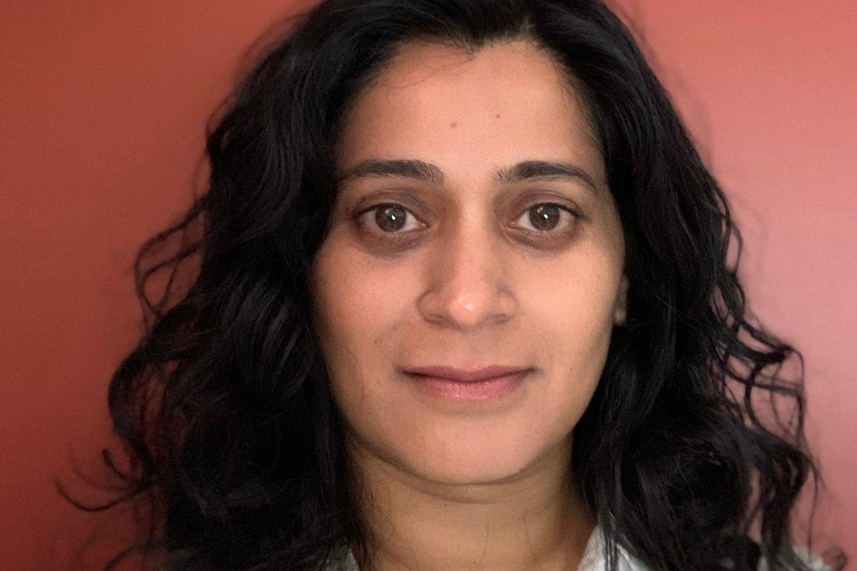 Nidhi Hegde, new associate professor in the University of Alberta's Department of Computing Science.