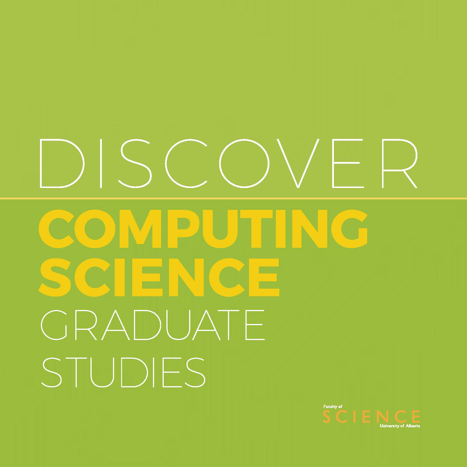 Computing Science Graduate Studies