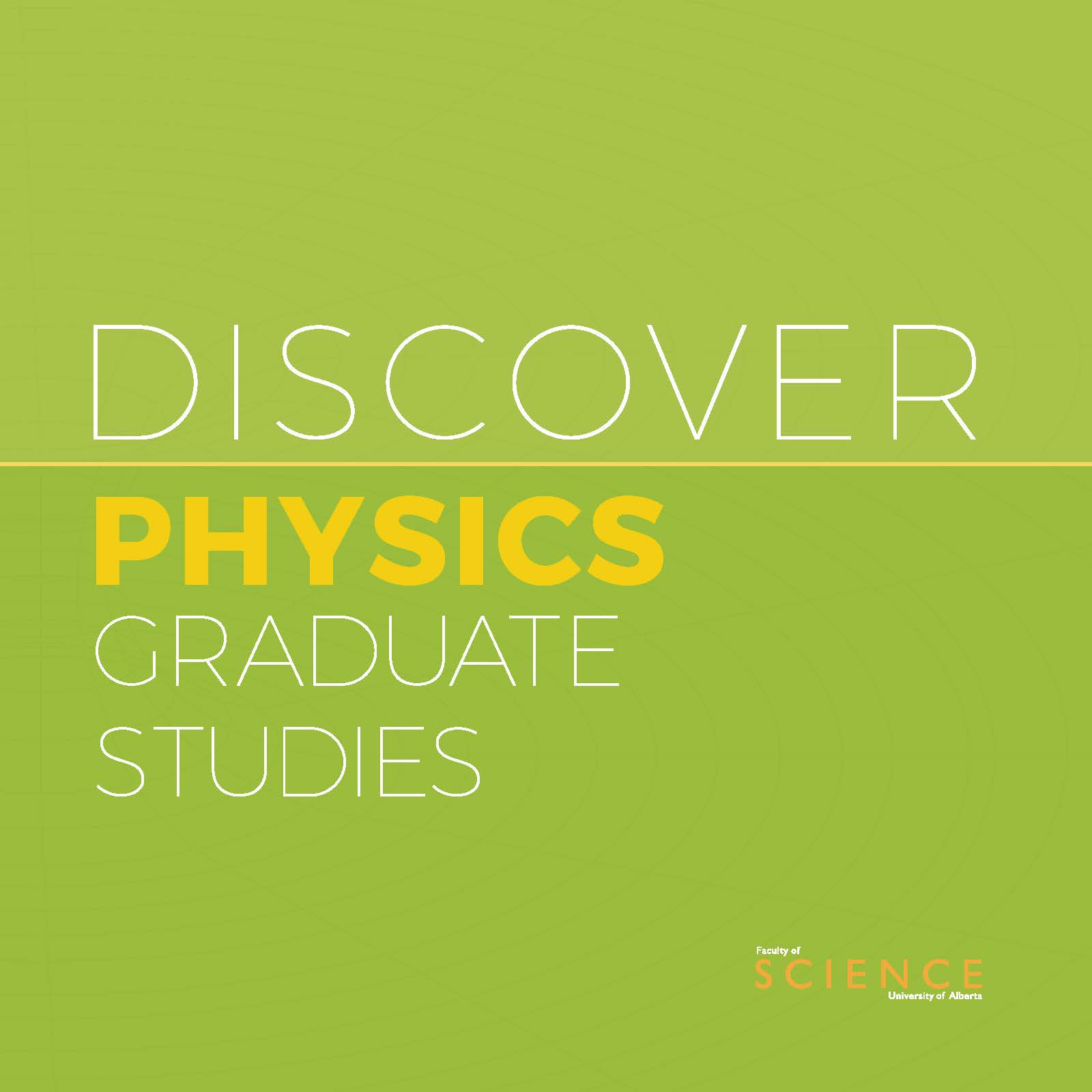 Physics Graduate Studies
