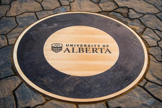 The University of Alberta crest.