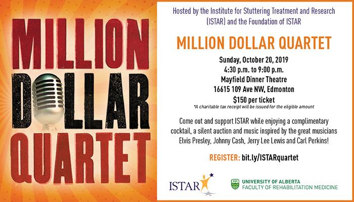 Million Dollar Quartet for ISTAR   Institute for Stuttering