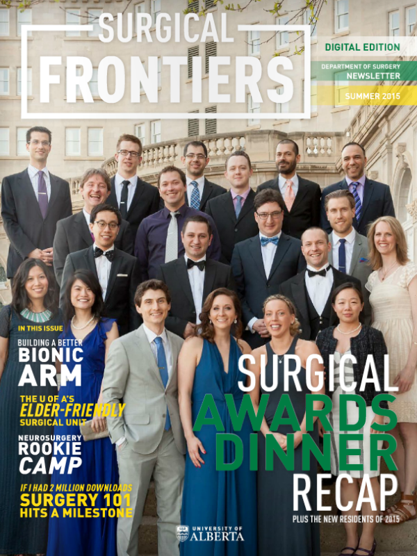 Surgical Frontiers - Q3 2015