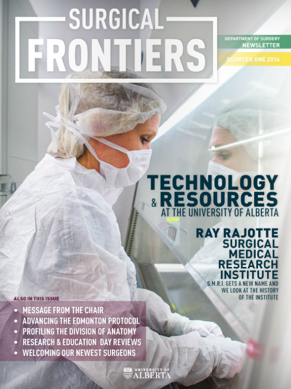 Surgical Frontiers - Q1 2016