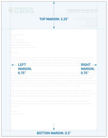 Letterhead marketing communications toolkit margins default spiritdancerdesigns Gallery