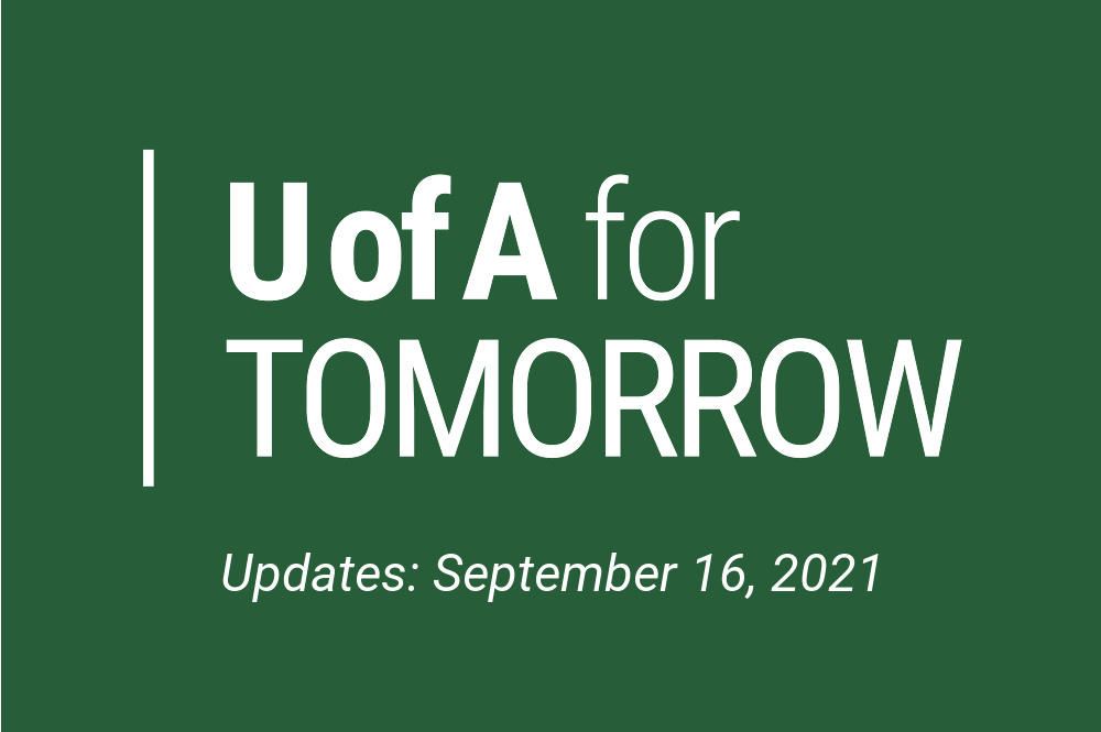 UAT update September 16, 2021